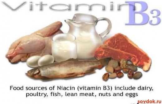 продукты с витаминами группы В