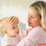 Помощь ребёнку с гипертермическим синдромом