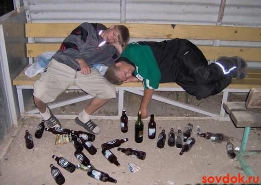 дети и пиво