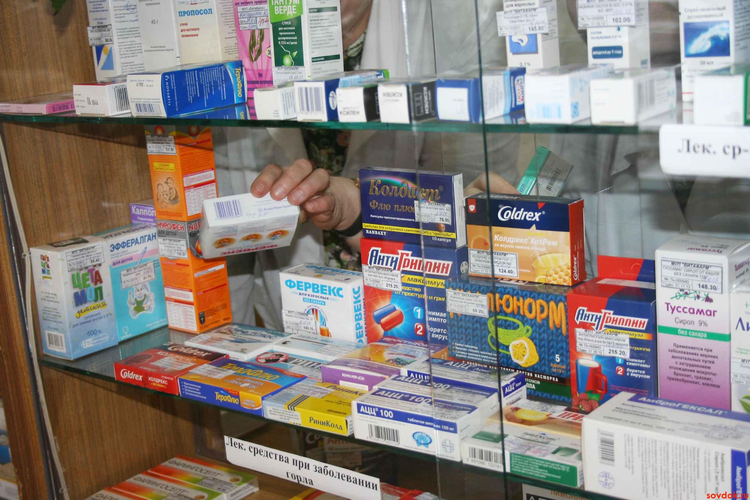 противовирусные препараты при простуде