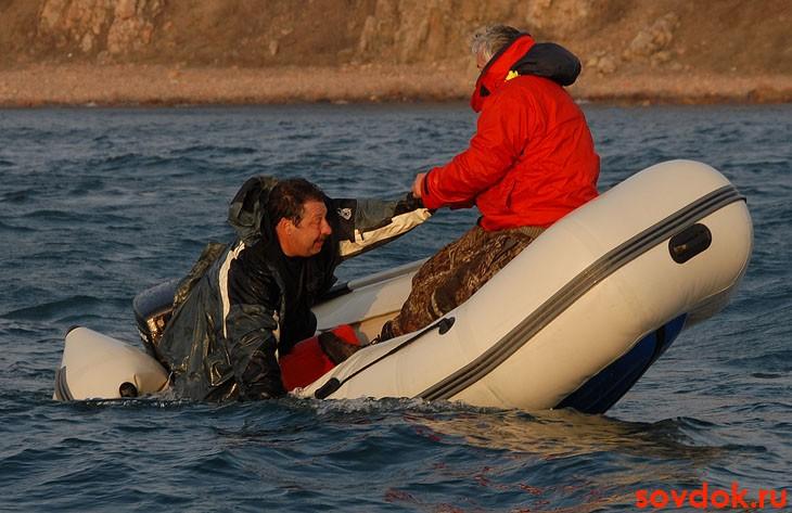 и утонули мои весла и лодка канула на дно