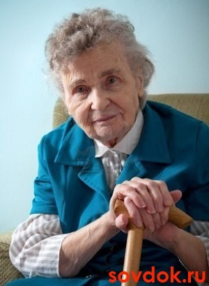старушка с энцефалопатией