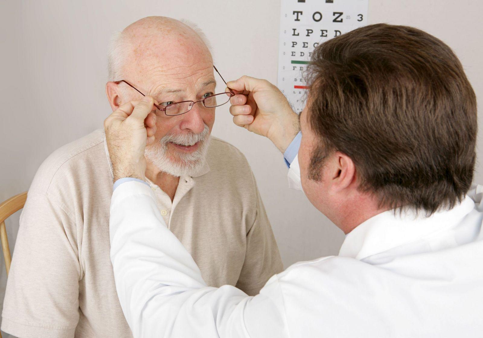 Причины ухудшения зрения у пожилых людей