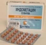 таблетки индометацин инструкция по применению