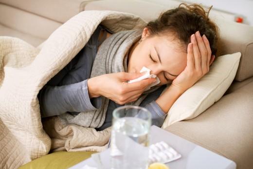 кишечный грипп нередко сопровождается симптомами ОРВИ