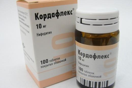 Кордафлекс в дозе 10 мг применяется при кризе