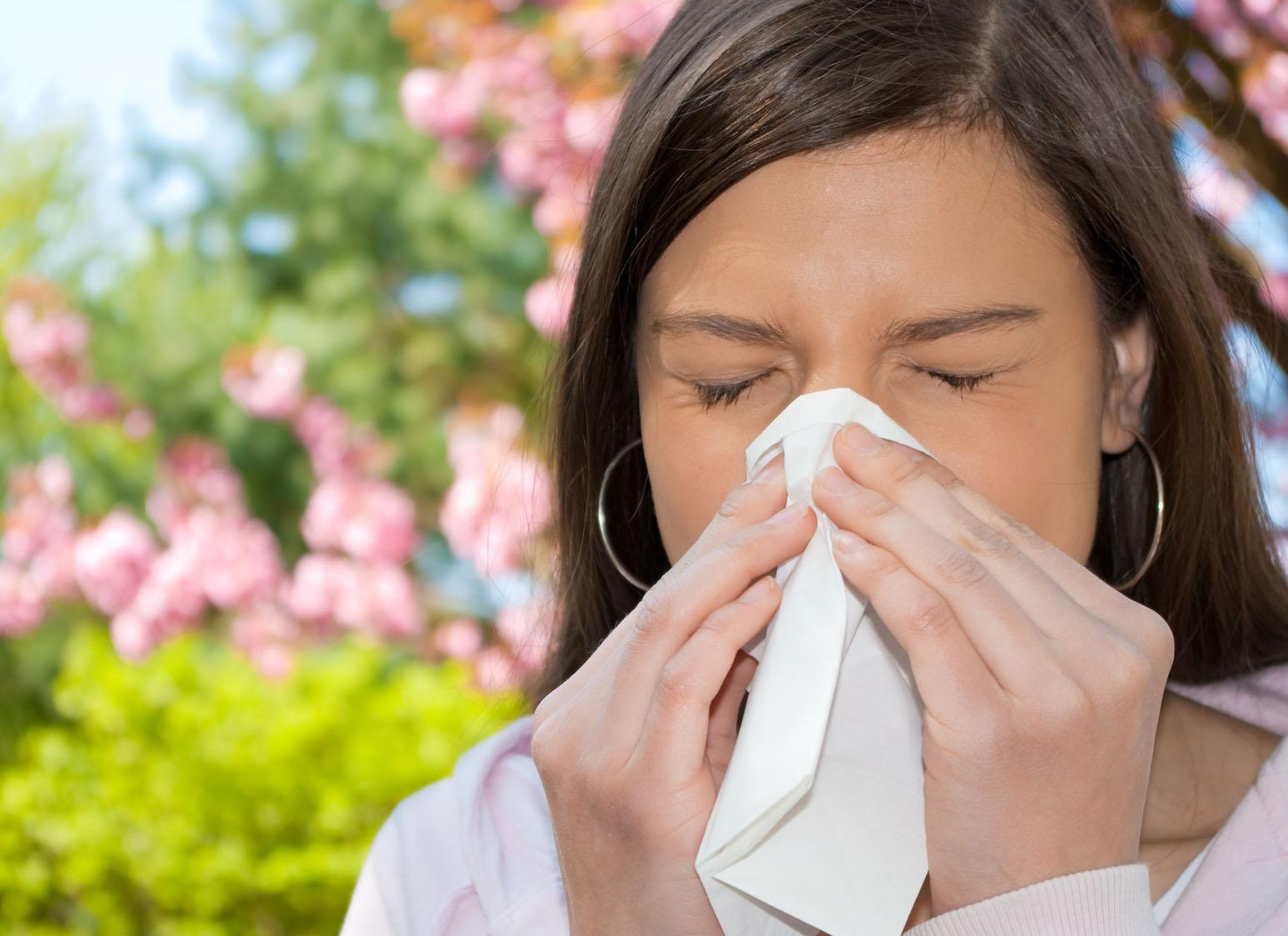 Аллергия: причины и  симптоматика