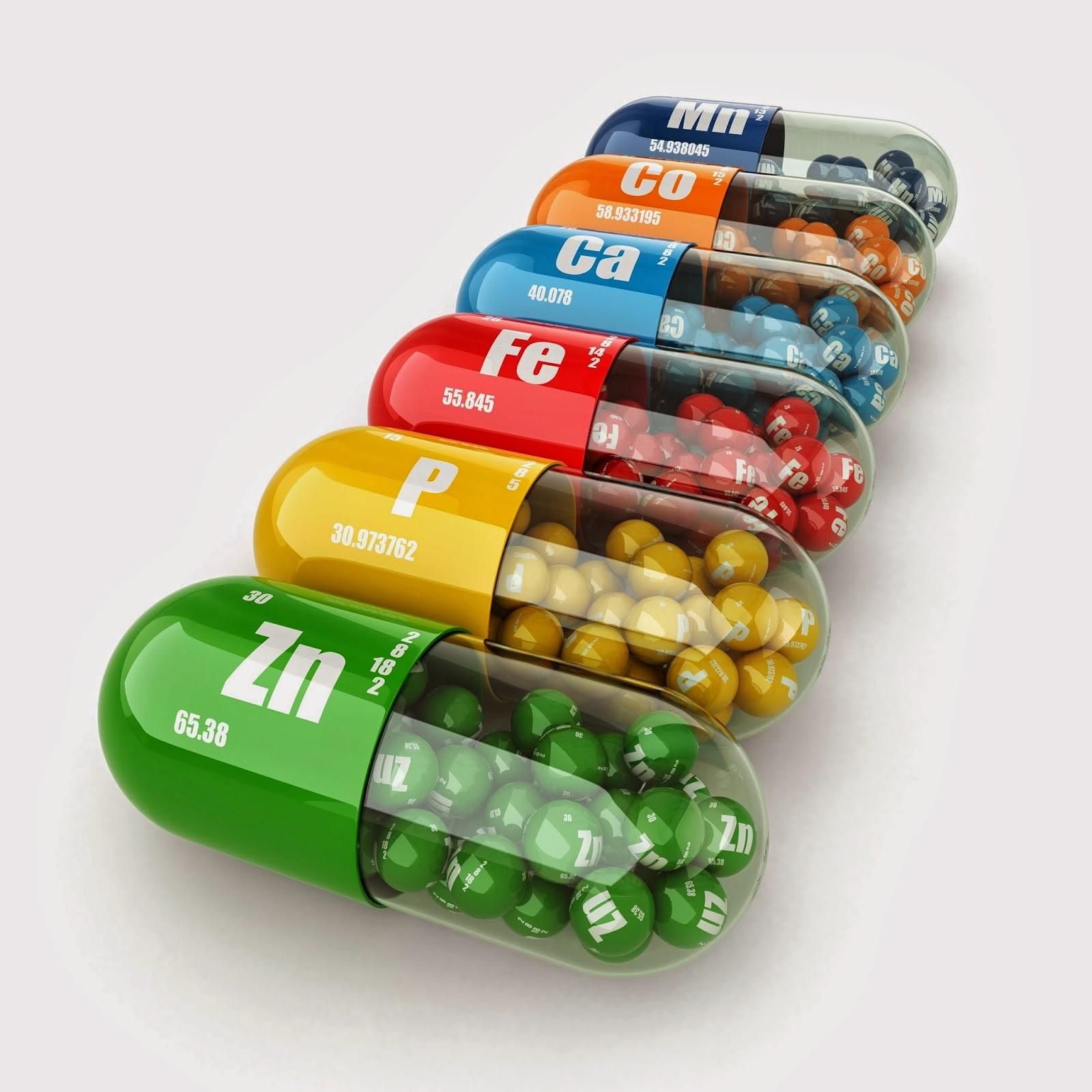Вопрос  использования  витаминов и минералов  в жизни человека
