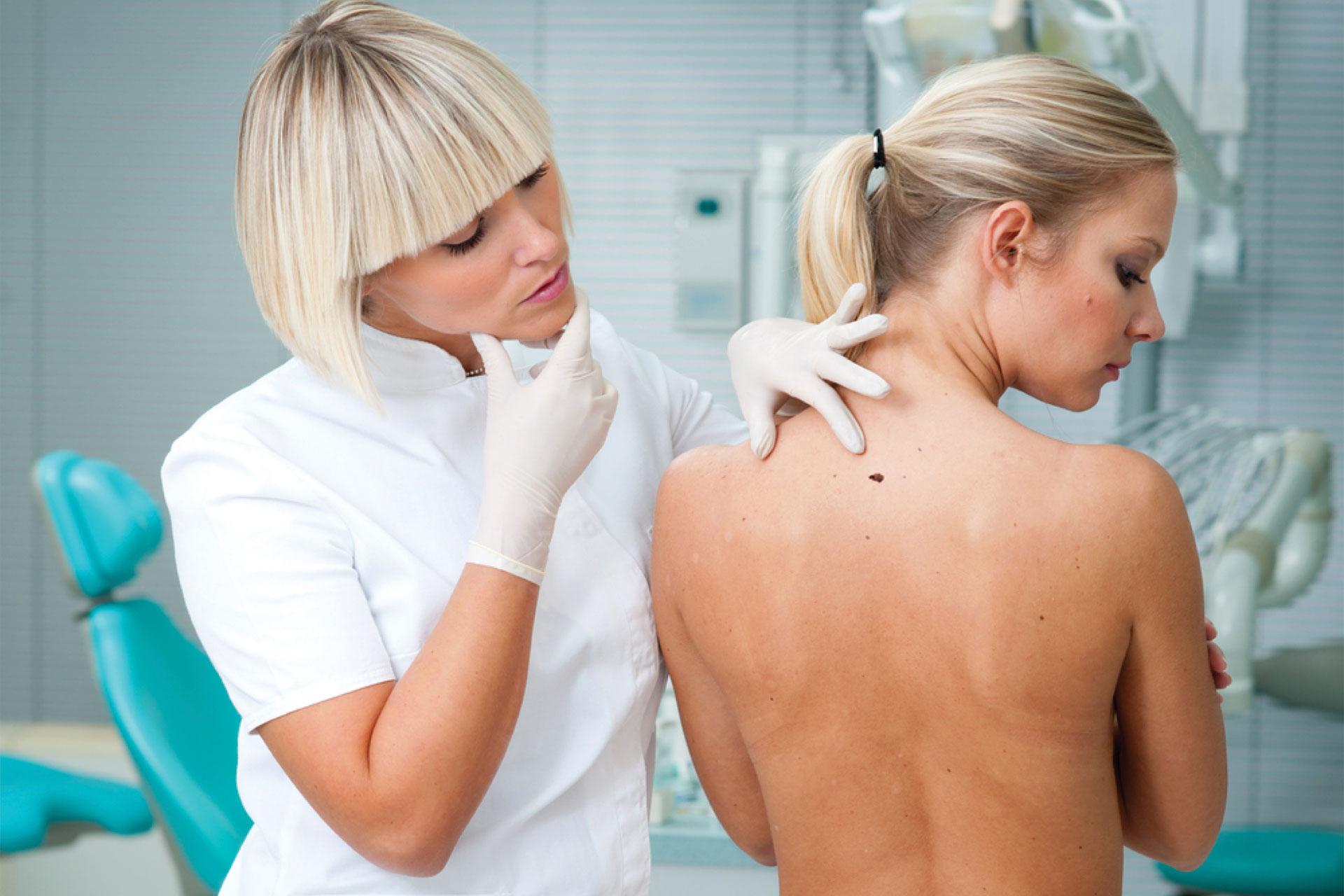 Диагностические  вопросы  меланомы  кожи