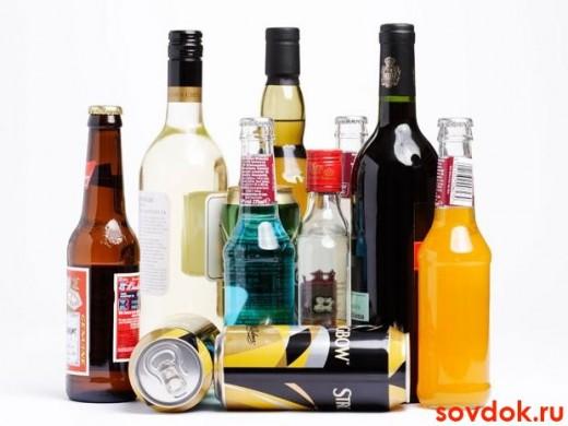 Чрезмерное употребление алкоголя противопоказано при стенокардии