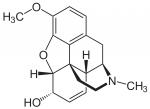 Структурная формула кодеина