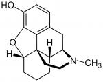 Структурная формула морфина