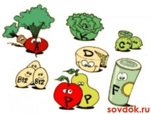 Весёлые витамины