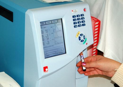 Аппарат для проведения анализа крови