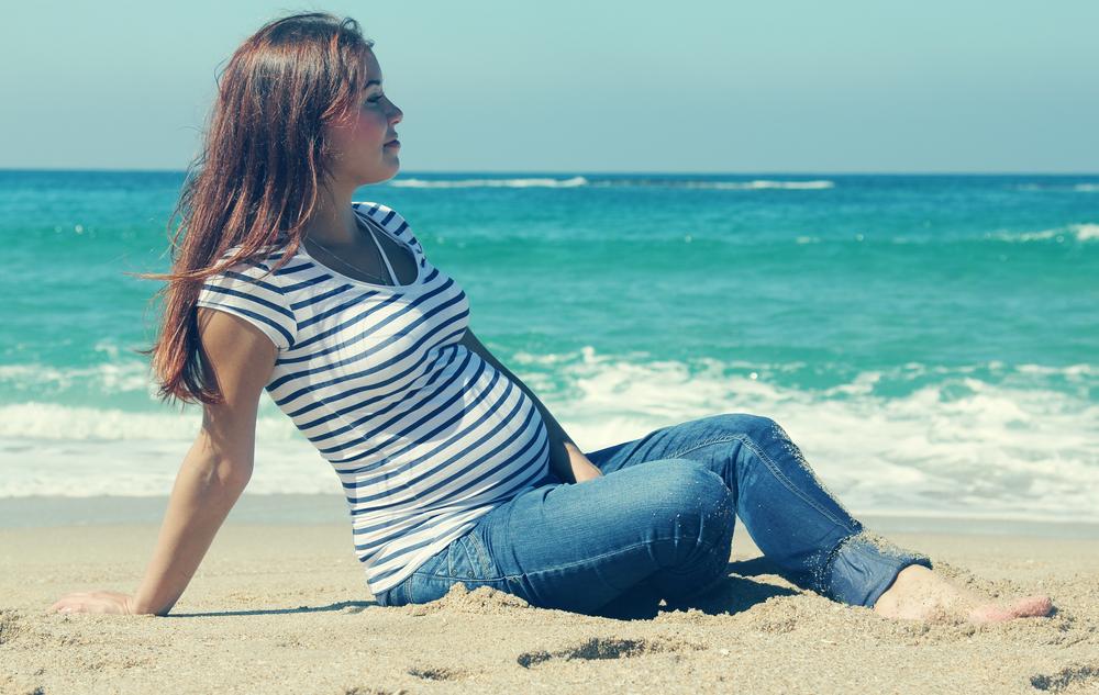 Кто отдыхал на море беременной
