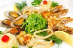 Блюда морепродуктов и рыбы