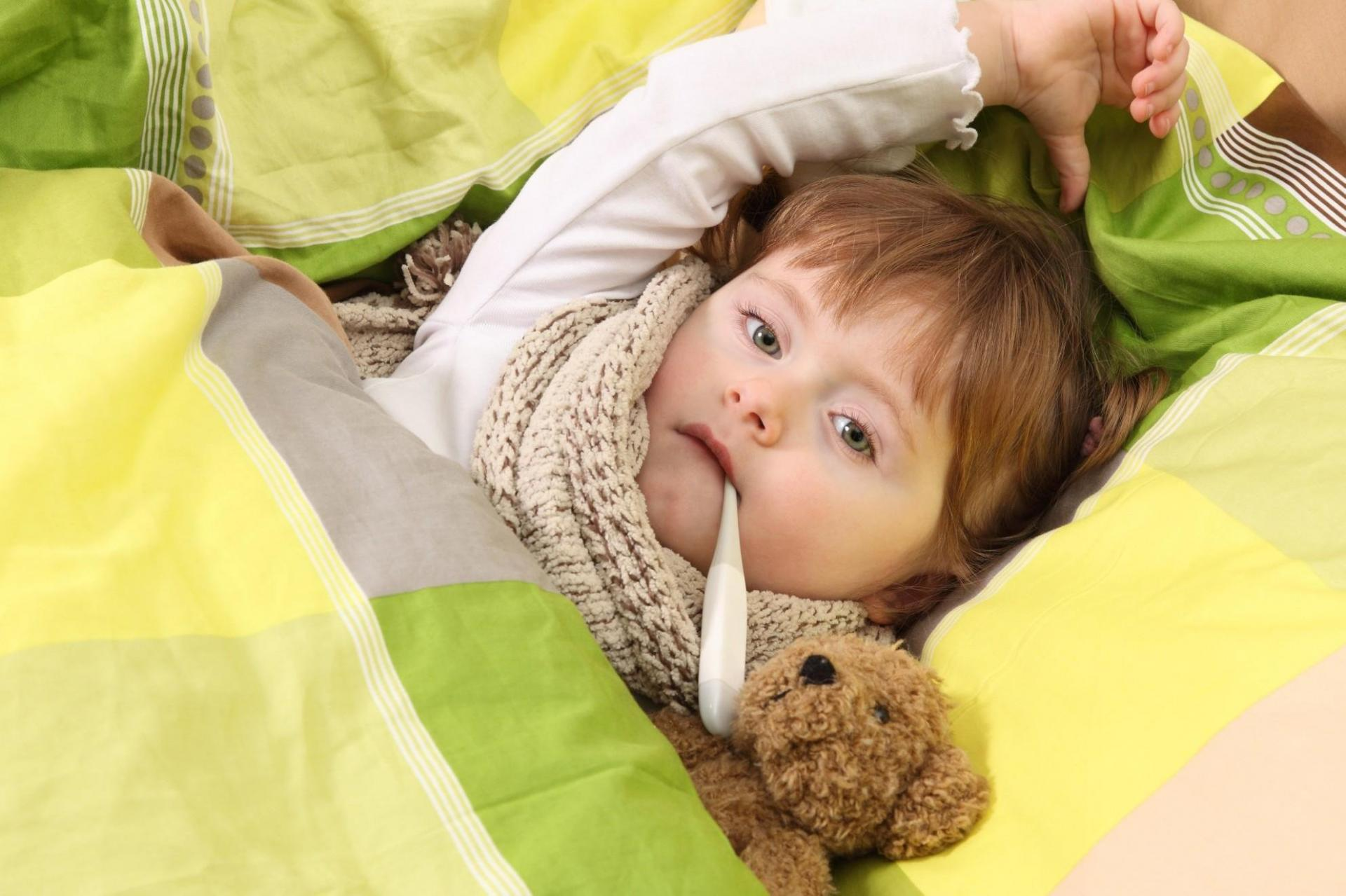 болеющий ребёнок