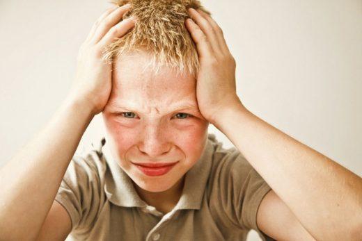 Болит голова у ребёнка