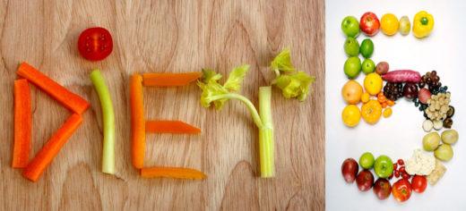 Слово, составленное из овощей и фруктов