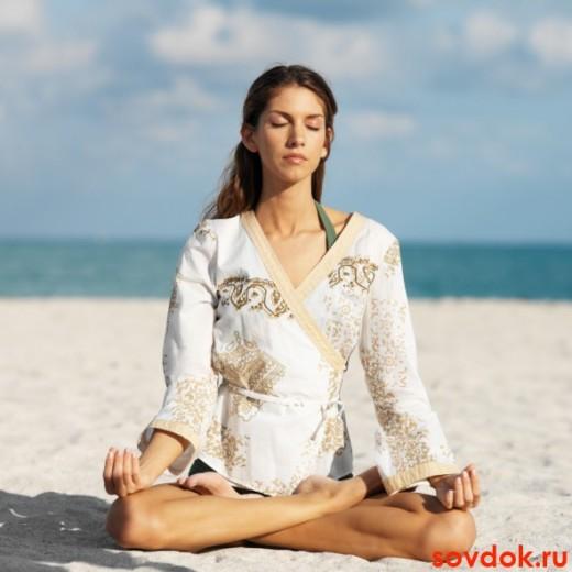 дыхание при медитации
