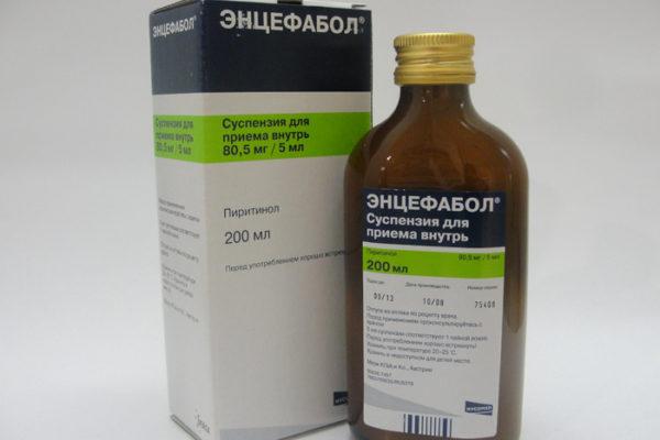инструкция энцефабол в сиропе