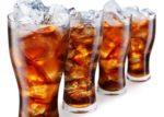 Стаканы с газированными напитками