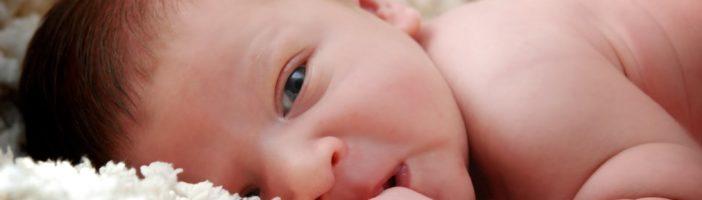 Глаза новорождённого