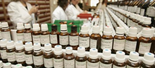 Гомеопатические лекарства в аптеке