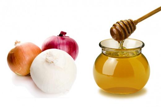 Луковицы и мед
