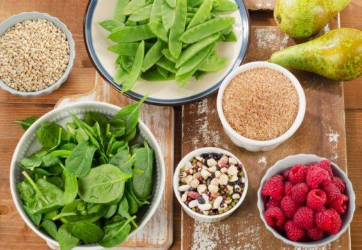 Овощи, зелень, фрукты и крупы