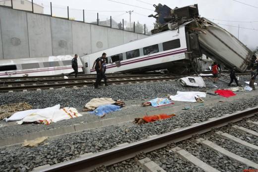крушение локомотива