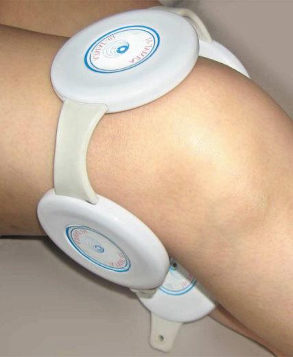Лечение коленного сустава аппаратом Алмаг