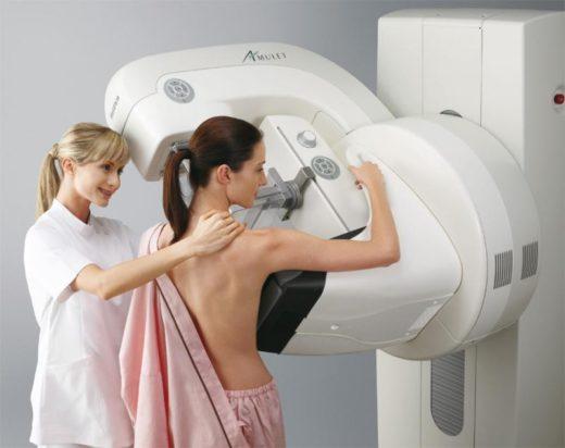 Маммография является абсолютно безболезненной процедурой