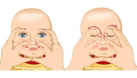 Массаж слёзных канальцев у детей