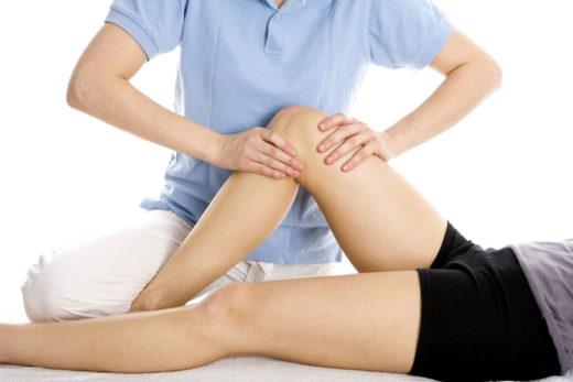 Массаж коленных суставов