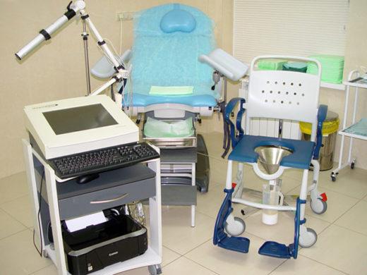 Медицинское оборудование для проведения уродинамического исследования