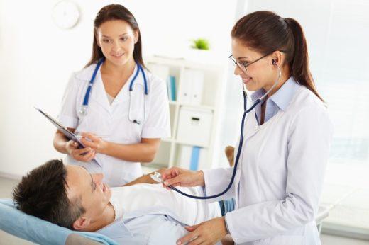Оказание медицинской помощи больному