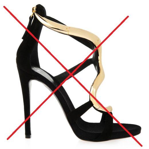 Отказ от каблуков