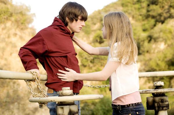 У подростка первая любовь что делать