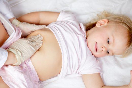 Пальпация почек у ребёнка
