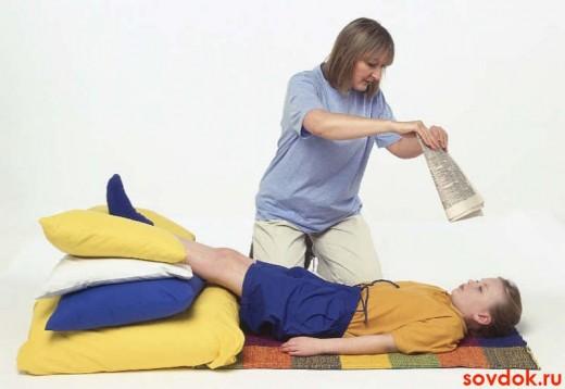 первая помощь ребёнку