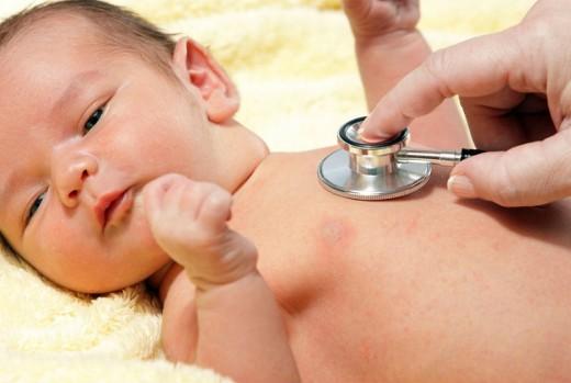 Пневмония у новорождённого