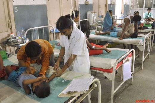помощь детям в больнице при отравлении