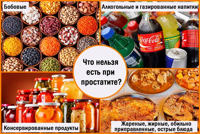 Диета При Не Бактериальном Простатите.