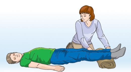 Помощь человеку при обмороке