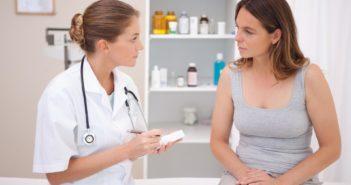 приём гинеколога