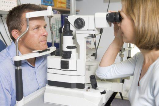 Процедура биомикроскопии