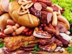 Колбаса, сало, сосиски, ветчина, окорок