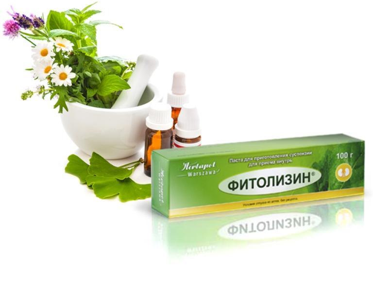 Фитолизин при лечении цистита: инструкция по применению пасты + отзывы о средстве