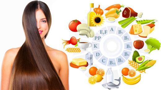 Витамины, необходимые для нормального роста волос